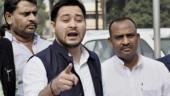 Are Nitish, Paswan demanding special category status to Bihar from Donald Trump, asks Tejashwi