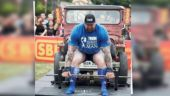 'The Mountain' from Game of Thrones just crushed the World's Strongest Man competition