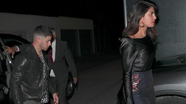 Priyanka Chopra spotted running her fingers through Nick Jonas' hair
