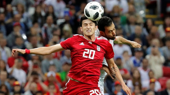 Sardar Azmoun's retirement will come as a major blow to Iran (Reuters Photo)