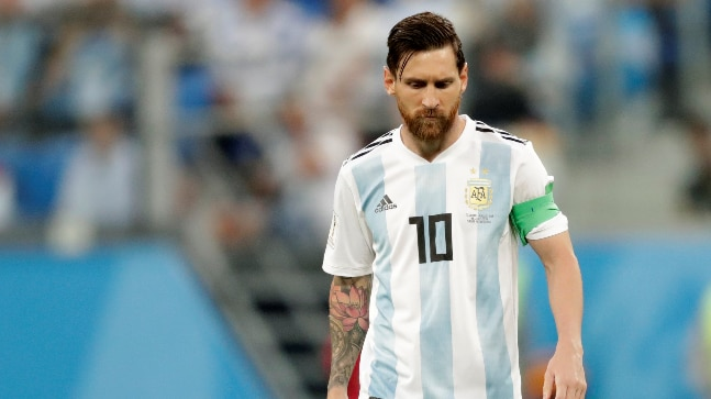 super cute 7f7bc a4d4a World Cup 2018: Why Lionel Messi struggles for Argentina and ...