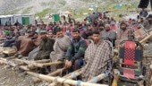 Hundreds of workers jobless as heavy rains stall Amarnath Yatra