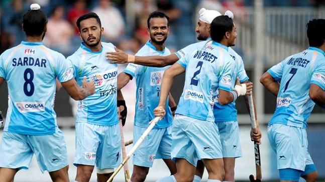 a335f35d1e9 Champions Trophy Hockey 2018  India top table despite draw vs ...