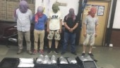 Five Chinese nationals arrested in Kolkata with 197 kg of banned drugs