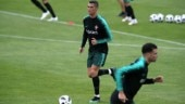 2018 FIFA World Cup: Cristiano Ronaldo trains with Portugal squad