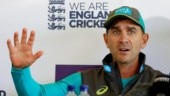 Australia coach Justin Langer sledges his daughter while playing UNO