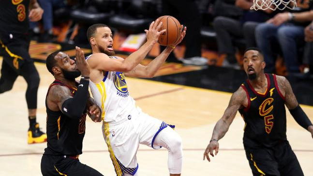 023a9148a9e Golden State Warriors beat Cleveland Cavaliers to win NBA title ...