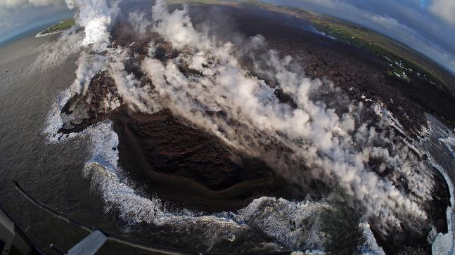Ash Eruption At Kilauea Summit Registered As 5.4 natural disaster