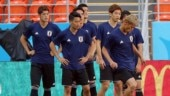 Earthquake at home, false alarm at hotel disturb Japan's World Cup team