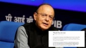 Thank You, Arvind: Arun Jaitley pens farewell note for outgoing Chief Economic Adviser