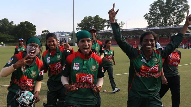 Bangladesh women surprise India