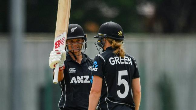 Suzie Bates Stars as New Zealand Women Smash Record ODI Total