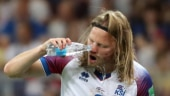 Bjarnason applauded for 'Viking' spirit as Iceland exit World Cup 2018