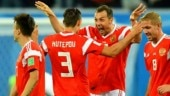 World Cup 2018: Russian players bask in the glory of dream run at home