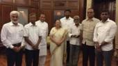 Sumitra Mahajan accepts resignation of 5 YSRCP MPs