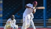 Kieran Powell scored a breezy 64 not out off 80 deliveries (Photo Credit: @westindies)