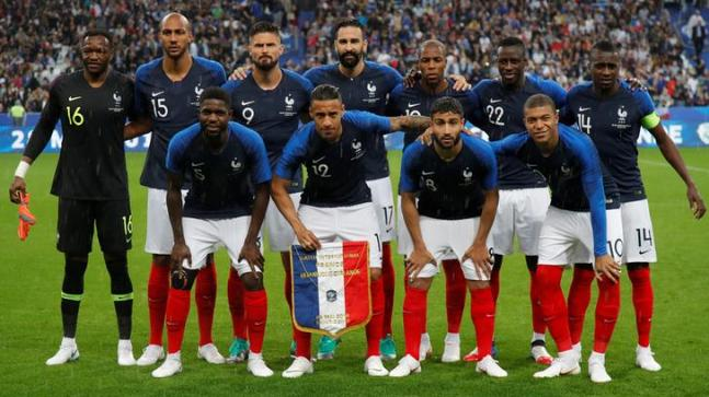 new concept 19b12 ce5c4 2018 FIFA World Cup: France jerseys the most popular among ...