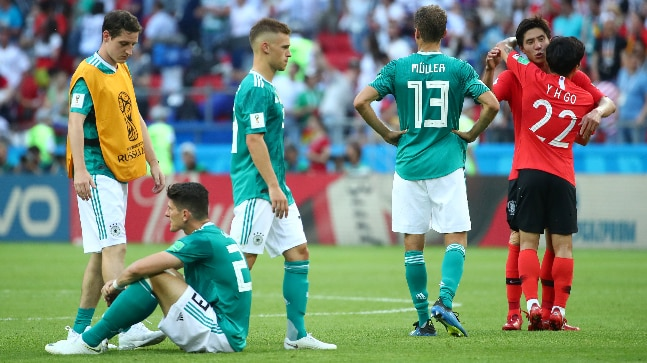 FIFA World Cup 2018  Germany. FIFA World Cup 2018  Defending champions  Germany were knocked out ... dbac682b2