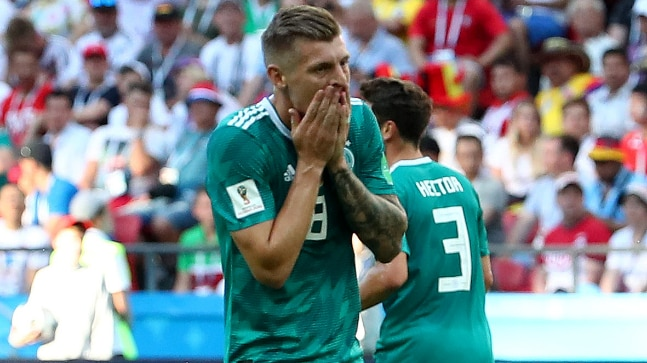 FIFA World Cup  Germany became the third consecutive defending champion to  be knocked out in the group stage (Reuters Photo) 841afcfa6