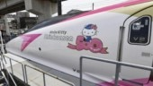 Hello Kitty bullet train debuts in Japan and it's too cute to handle!