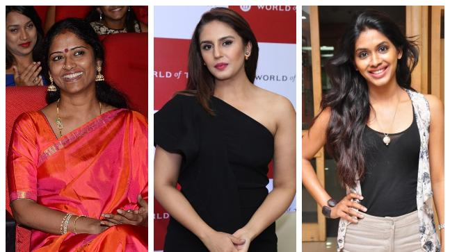 Eswari Rao, Huma Qureshi and Anjali Patil