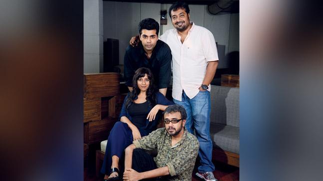 Karan Johar, Anurag Kashyap, Zoya Akhtar and Dibakar Banerjee