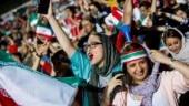 Iran women (@RebeccaEw_ Twitter Photo)