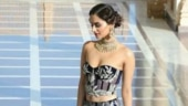 Manushi Chhillar in this corset-lehenga is what dreams are made of