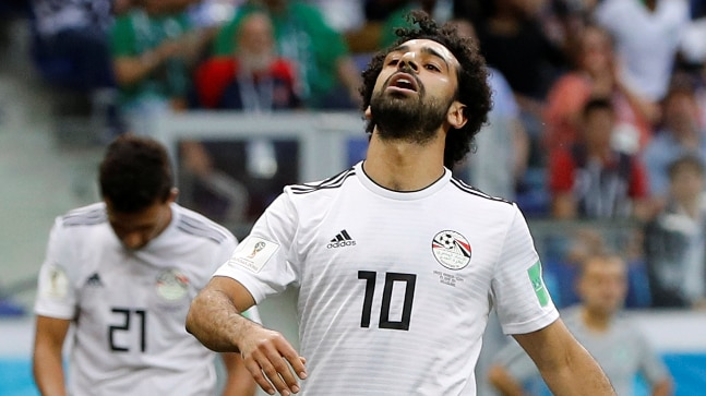 finest selection 21645 877bc World Cup 2018: Even Mo Salah could not fulfill the Egyptian ...