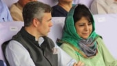 Omar Abdullah with Mehbooba Mufti