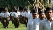RSS members sit on dharna after Agra cops refuse to allow shakha near Taj Mahal