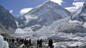 Trekkers at Everest (NEPAL-EVEREST/ REUTERS/Phurba Tenjing Sherpa)