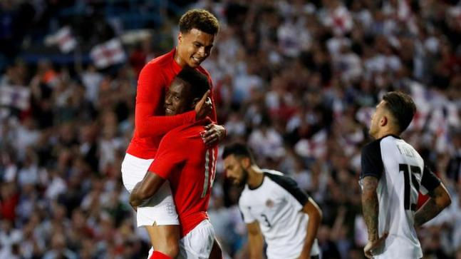 f3ddeebaf23 FIFA World Cup: England, Portugal win final warm-up matches - Sports ...