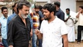 Rajinikanth and Ranjith on the sets of Kaala