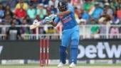 Rohit Sharma falls 3 short of record century in India's 100th T20I