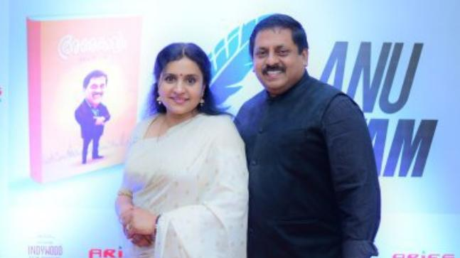 Sohan Roy with his wife Abhini Sohan