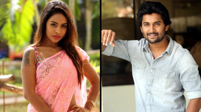 Sri Reddy and Nani