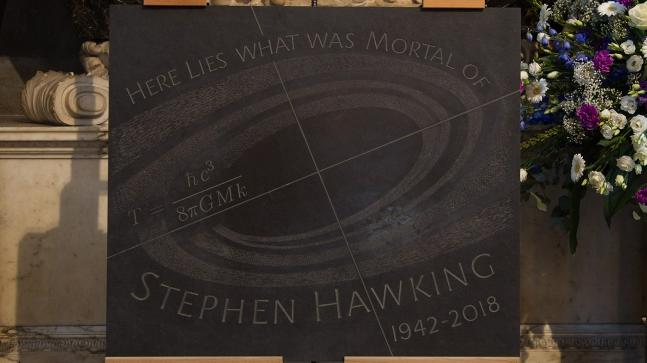 Hawking meets Newton, Darwin at Westminster Abbey, musical tribute beamed into space