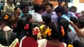 Tamil Nadu students protest transfer of their favourite English teacher