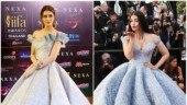 Kriti Sanon wore a Mark Bumgarner at IIFA 2018 while Aishwarya opted for Michael Cinco at Cannes 2017