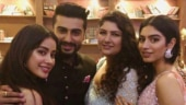 Janhvi Kapoor and Anshula Kapoor have a sweet wish for Arjun Kapoor on his birthday.