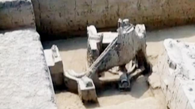 Indians used chariots 4,000 years ago, ASI unearths evidence