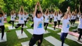 Yoga strikes a chord in China as thousands mark yoga day