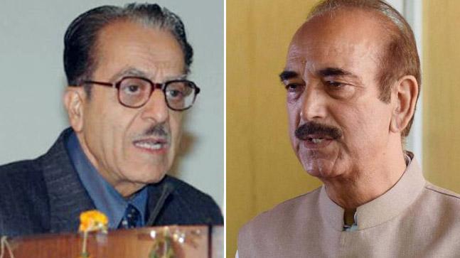 Saifuddin Soz Ghulam Nabi Azad