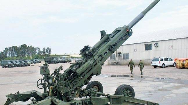 Indian-made artillery gun, Dhanush