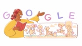 Today's Google Doodle on Efua Sutherland