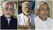 Nitish matches Hamid Ansari's consistency in snubbing Modi over Yoga Day