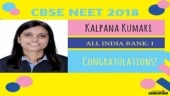 Bihar's Kalpana Kumari secures AIR 1 in CBSE NEET UG Results 2018