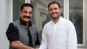 Kamal Haasan and Rahul Gandhi