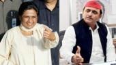 (L-R) Mayawati and Akhilesh Yadav